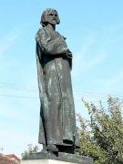 Bronzová socha Mistra Jana Husa