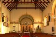 Celkový pohled k hlavnímu oltáři