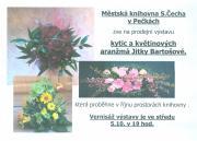 Prodejní výstava kytic a květinových aranžmá Jitky Bartošové