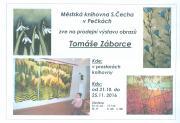 Prodejní výstava obrazů Tomáše Záborce