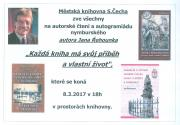 Autorské čtení a autogramiáda nymburského autora Jana Řehouneka