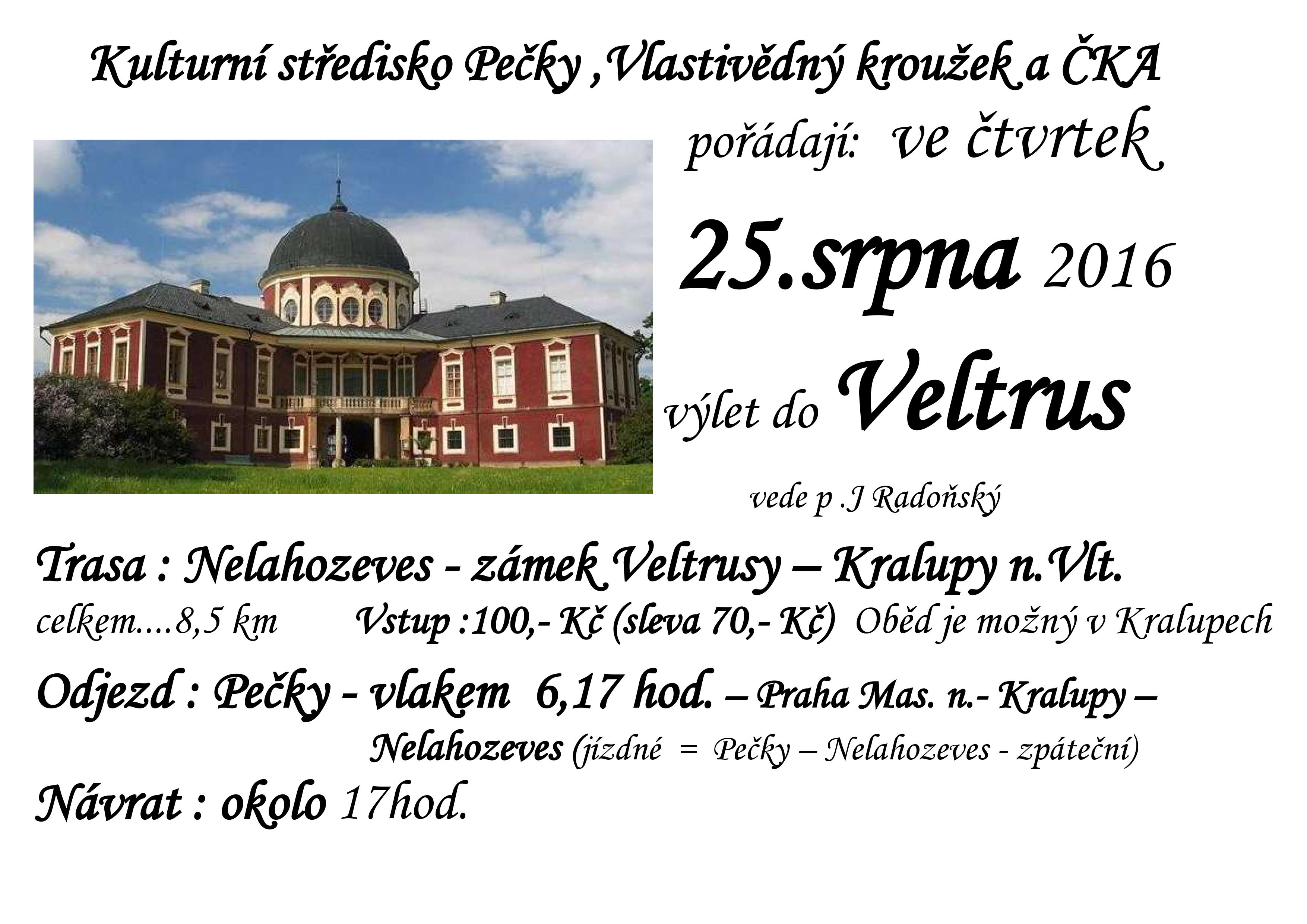 Výlet do Veltrus, obrázek se otevře v novém okně