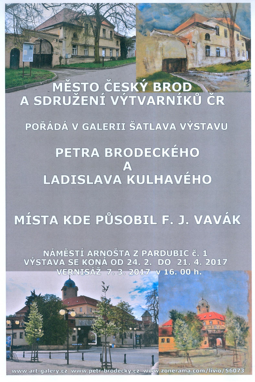 Výstava Místa kde působil F.J.Vavák, obrázek se otevře v novém okně