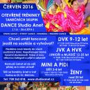 Nábor nových tanečníků do DANCE Studia Anet